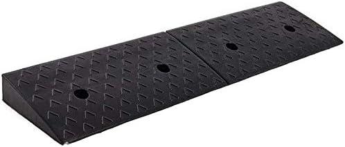 カースロープ、スロープゴム縁石スロープ大型トラックキャラバン上り坂マットサンプロテクションノンスリップトライアングルパッド7-10CMのロードカーブのスロープ (Size : 98*25*9CM)