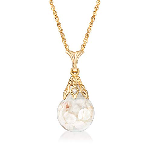 """Ross-Simons 14k-Gold Floating Opal Necklace and Earrings (14k-Yellow-Gold-Necklace 18"""") from Ross-Simons"""