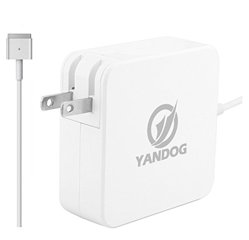 AC Power Magsafe 2 85w Power Adapter for Macbook Pro 17/15/13/11-Inch-T-tip.Compatible with all MacBooks produced after mid 2012.