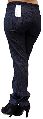 Jeans navy Angels Pantaloni da Blu donna bianco BwdAHw
