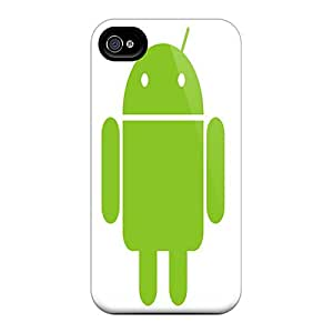 Favorcase Snap On Hard Cases Covers Android Logo Protector For Iphone 6