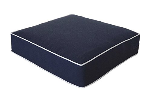Outdoor Navy Cushion Set