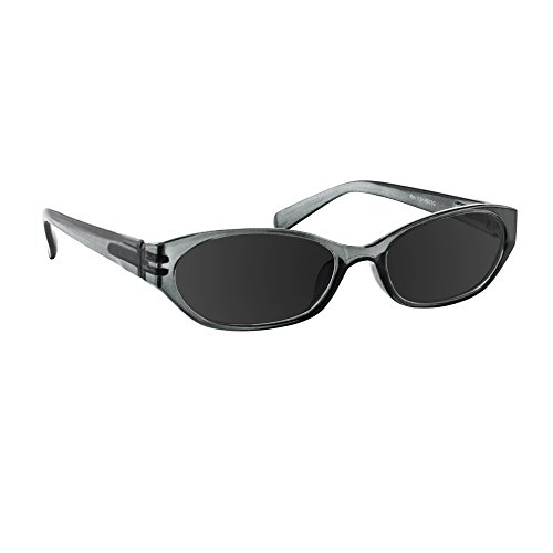 Reading SunGlasses Gray _ Always have a Stylish Look & Crystal Clear Vision When You Need It! _ Comfort Spring Arms & Dura-Tight Screws _ 100% Guarantee - Shop Sunglasses Online Fake Is
