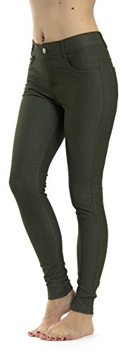 047c18793b6d2 Prolific Health Women's Jean Look Jeggings Tights Slimming Many Colors  Spandex Leggings Pants Capri S-