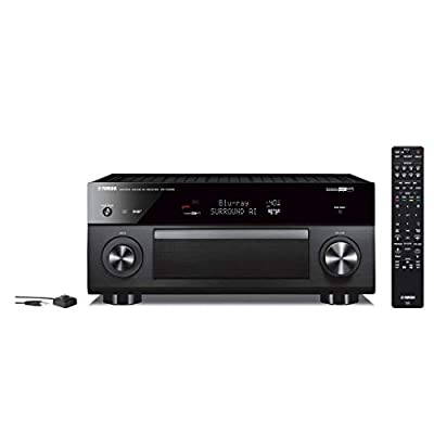 Yamaha Expandable Audio & Video Component Receiver Black (RX-V2085)