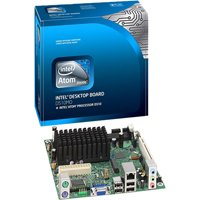 Intel Atom Dual-Core D510/DDR2/A&V&GbE/M-ITX Motherboard, Bulk BLKD510MO