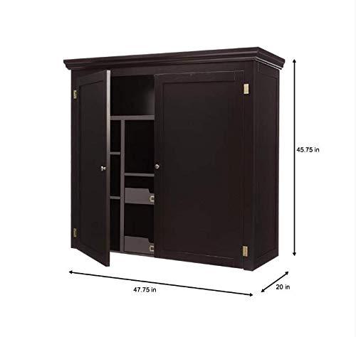Home Decorators Collection Prescott Solid Black Modular Pantry Open Top