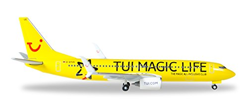 Daron Herpa Tuifly 737-800 1/500 Magic Life Reg#d-Atug