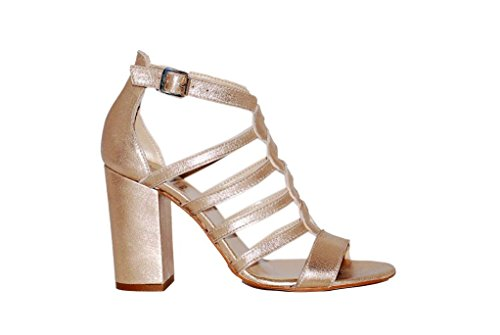 Sandali donna in pelle per l'estate scarpe RIPA shoes made in Italy - 50-36456