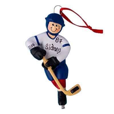 Amazon.com: Ice Hockey Guy – Adorno personalizado – (único ...