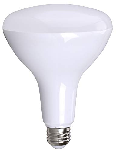 Bioluz LEDTM Br40 17w = 120w Equiv 2700k 1400 Lumen Smooth Dimmable Lamp UL Listed