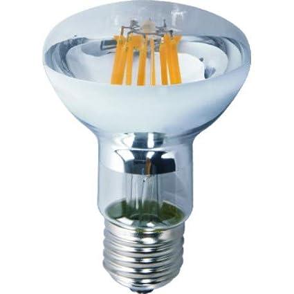 Alverlamp LR63FI06W - Lámpara reflector r63 led filamento 6w e27 6000k