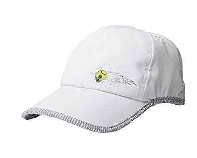 Tennis Beast Tennis Hats w/Snapback Closure (Youth, Adults) Breathable, Moisture-Wicking Baseball Cap | Ultra-Lightweight w/Ventilation Holes | Pre-Curved Brim