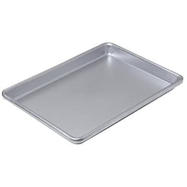 "Chicago Metallic Commercial II Non-Stick Small Cookie/Jelly Roll Pan, 13"" by 9.5"""