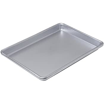 Chicago Metallic Commercial II Non-Stick Small Jelly Roll Pan, 13 by 9.5-Inch
