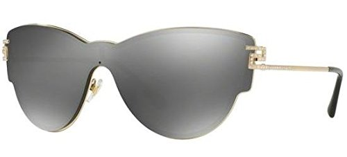 Versace Womens Sunglasses (VE2172) Gold/Silver Metal - Non-Polarized - ()