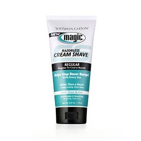 Magic Regular Fragrant Shaving Cream, 6-Ounce Tube ( Pack of 3) by Beauty Ent