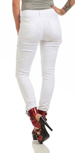 Fashion4Young noir Wei 36 Jeans Femme bleu qgwU7Fq