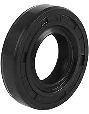 X AUTOHAUX 15mm X 30mm X 7mm Rubber Double Lip TC Oil Shaft Seal for Car Automobile
