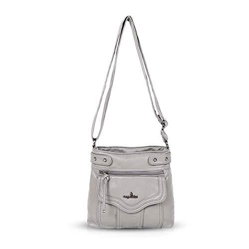hobo retro bags crossbody Gray bags Women shoulder amp; DORIS NICOLE Handbags 8FqwX0