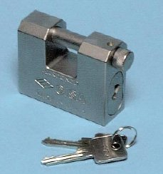 Cisa Straight Shackle Padlock 66 / 10mm by (Straight Shackle)