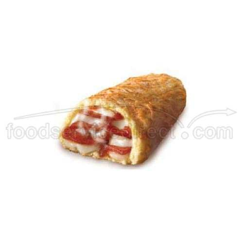 Nestle Hot Pockets Pepperoni Pizza Stuffed Sandwich, 8 Ounce - 12 per case.