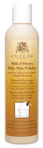 Cuccio Daily Skin Polish, Milk and Honey, 8 Ounce