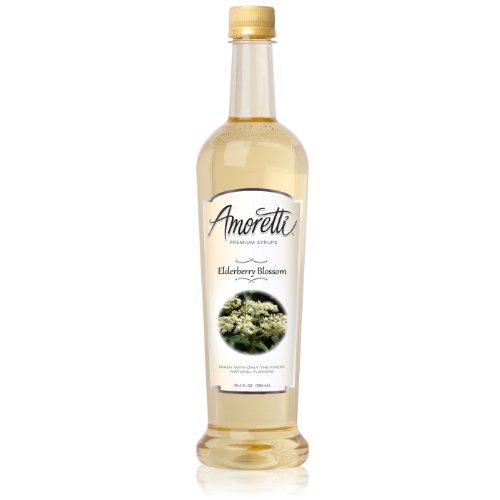 Amoretti Premium Syrup, Elderberry Blossom, 25.4 Ounce