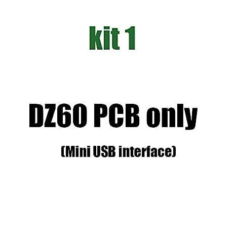 kbdfans DZ60 PCB 60% Layout Mini USB Interface with RGB