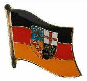 Yantec drapeau flaggenpin sarre broches
