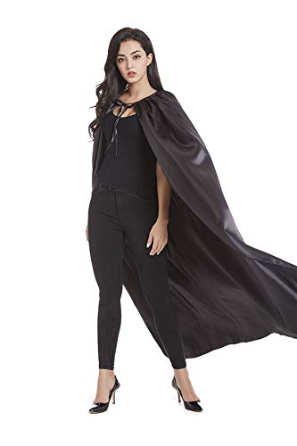 (Crizcape Adults Capes and Masks Set Womens and Mens DIY Dress up Costume Capes for Party)