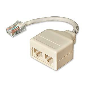 Amazon.com: Network Pair Splitter, 10base-T, Cat5, Single: Computers ...