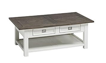 Canett Furniture Skagen Tisch Couchtisch Landhaus Weiss Holz