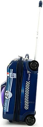 ABS//PC 24H Le Mans Bolide Bleu Valise Trolley Enfant 45cm LM700BL