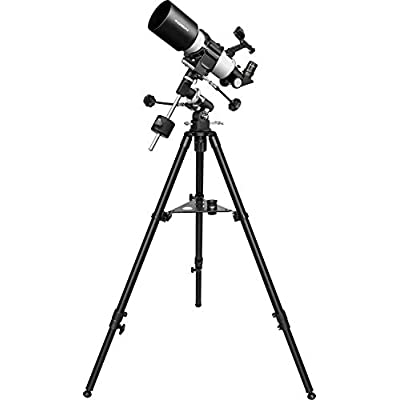 Orion CT80 EQ 80mm Compact Equatorial Refractor Telescope, Black/White (09911): Camera & Photo