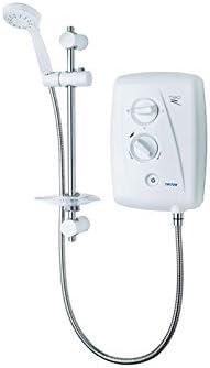 Triton SP8008ZFF Shower, White & Chrome