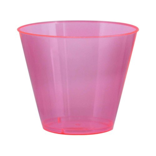 hard plastic cups old fashioned