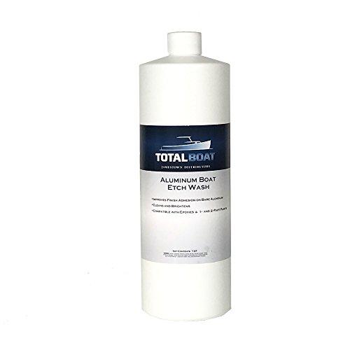 TotalBoat Aluminum Boat Etch Wash (Quart)