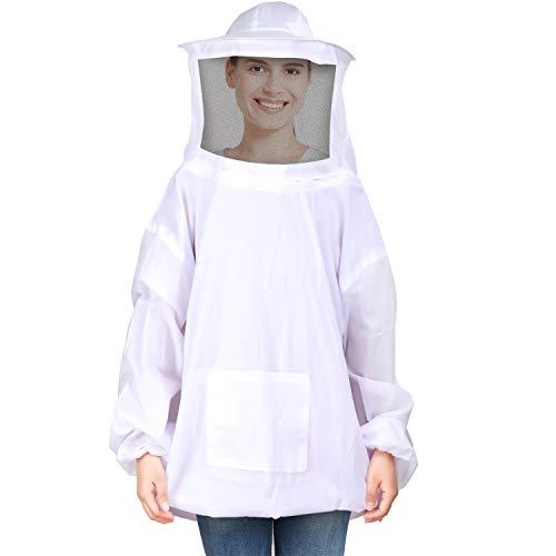 (Frienda Bee Jacket Ventilated Beekeeping Suit Cosplay Accessory for Men Women,)