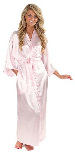 VEAMI Women's Kimono Robe-Fairytale-Medium, Long