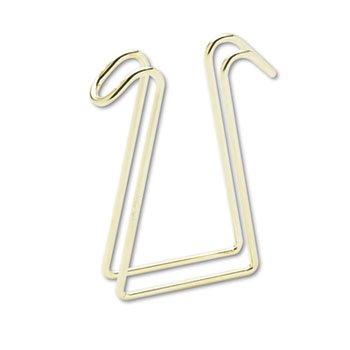 Artistic Garment Hook, Double, Brass by Artistic