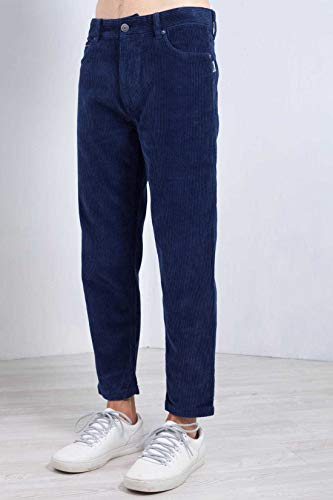 Blu In Velluto Pantaloni Jeans Uomo Tommy Corduroy Chino wZA0xI