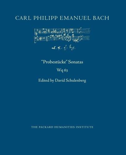Probestücke Sonatas, Wq 63 (CPEB:CW Offprints) (Volume 5)