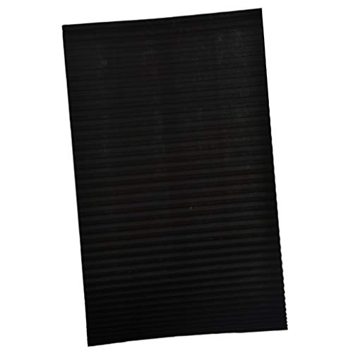 Flameer Cordless Light Filtering Pleated Fabric Shade