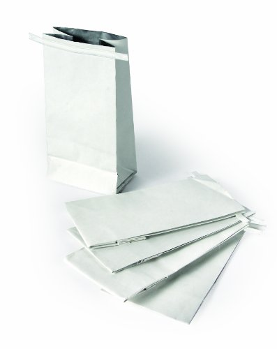 Disposal Bag Holder - Camco Replacement Storage Easily Contain and Dispose Used Cooking Grease, Foil Lined Bags Seal in Odor, Prevent Drain Clogs-5 Pack (42285)