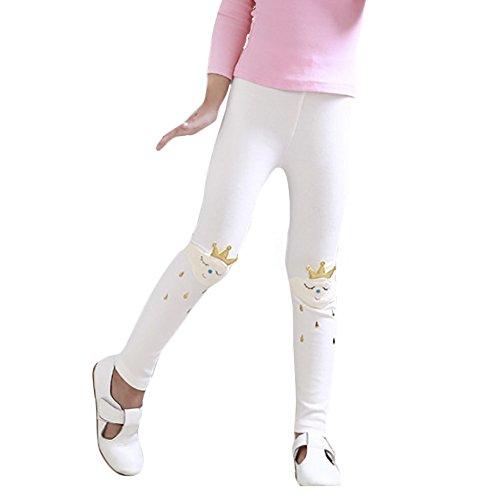 Bambina Soft White Bambina Pantaloni Leggings pxtSEE