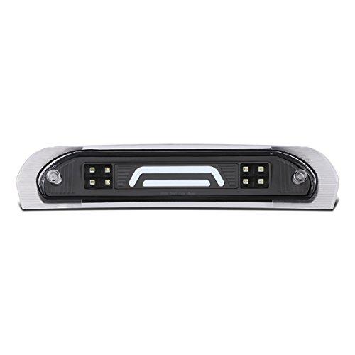 DNA MOTORING Black Housing/Clear Lens 3BL-DRM02-3D-LED-BK 3D LED Bar Third Brake/Cargo Light [02-09 Dodge Ram Truck]