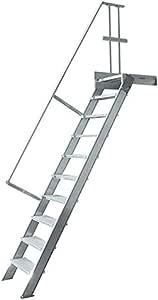 Escaleras industriales – Ancho de niveles 800 mm: Amazon.es: Bricolaje y herramientas
