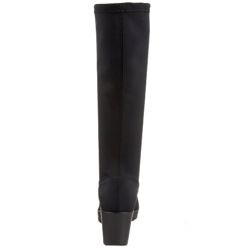 La Canadienne Womens Gaetana Boot Black Microfibre