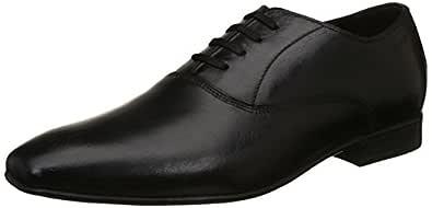 Ruosh Black Loafers Shoes For Men, 44 EU